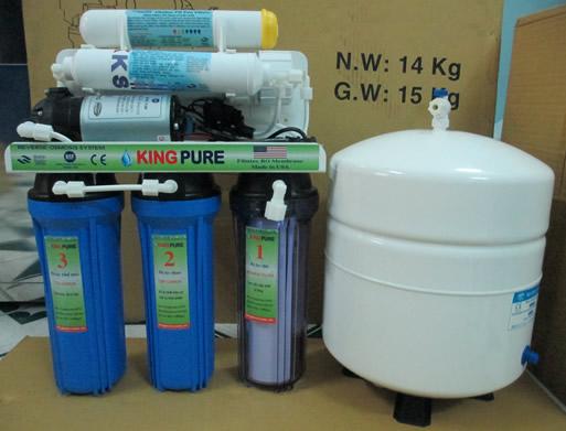 Máy lọc nước RO gia đình Kingpure-6 cấp Alkaline
